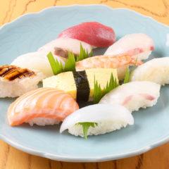 にぎり寿司メニュー