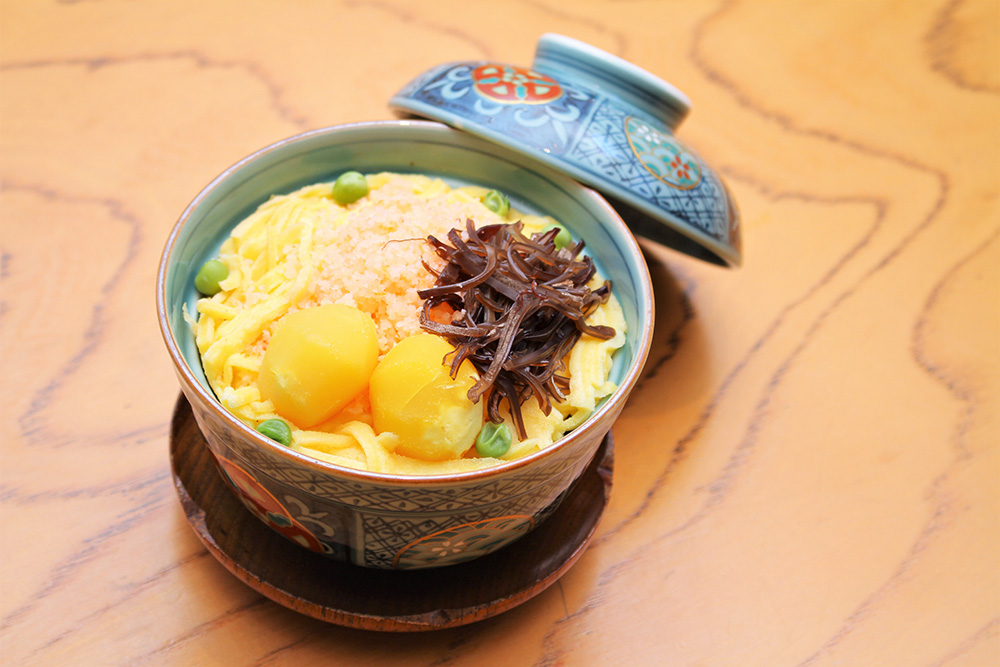 蒸し寿司冬季限定寿司高辰名物